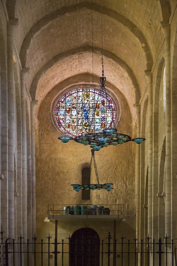 Monastero di poblet catalogna spagna immagine stock - Finestra in spagnolo ...