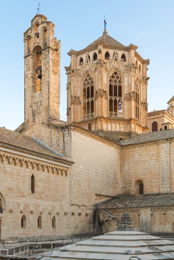 Monastero di Poblet vicino a Barcellona in Catalogna, Spagna fotografia stock