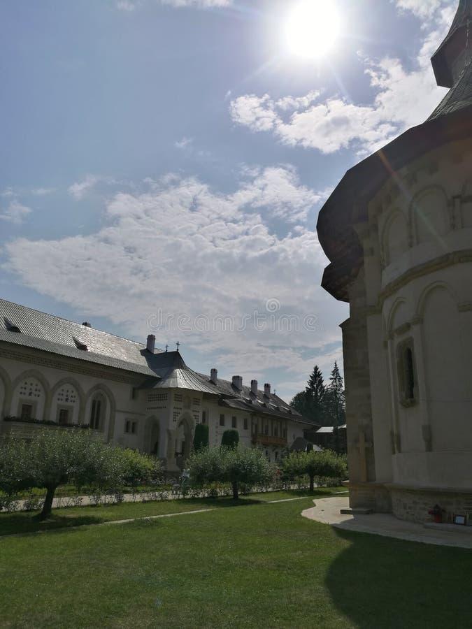 Monastero di Putna fotografie stock