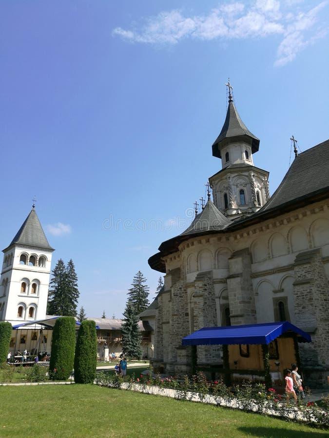 Monastero di Putna fotografia stock