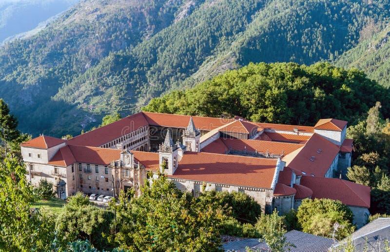 Monastero di San Esteban - la Galizia, Spagna immagini stock