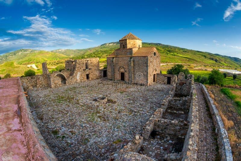 Monastero di Sinti di tou di Panagia Distretto di Pafo cyprus fotografia stock