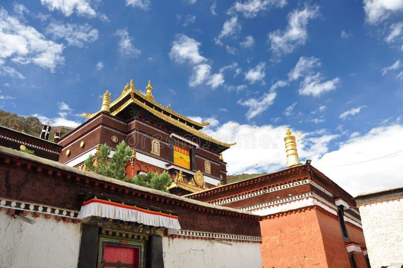 Monastero di Tashilhunpo immagine stock
