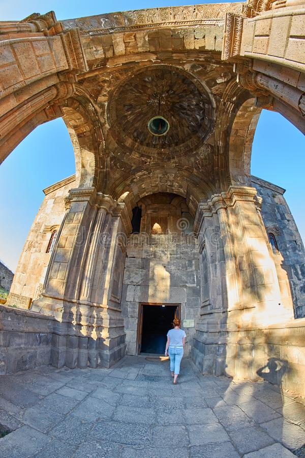 Monastero di Tatev in Armenia fotografie stock libere da diritti