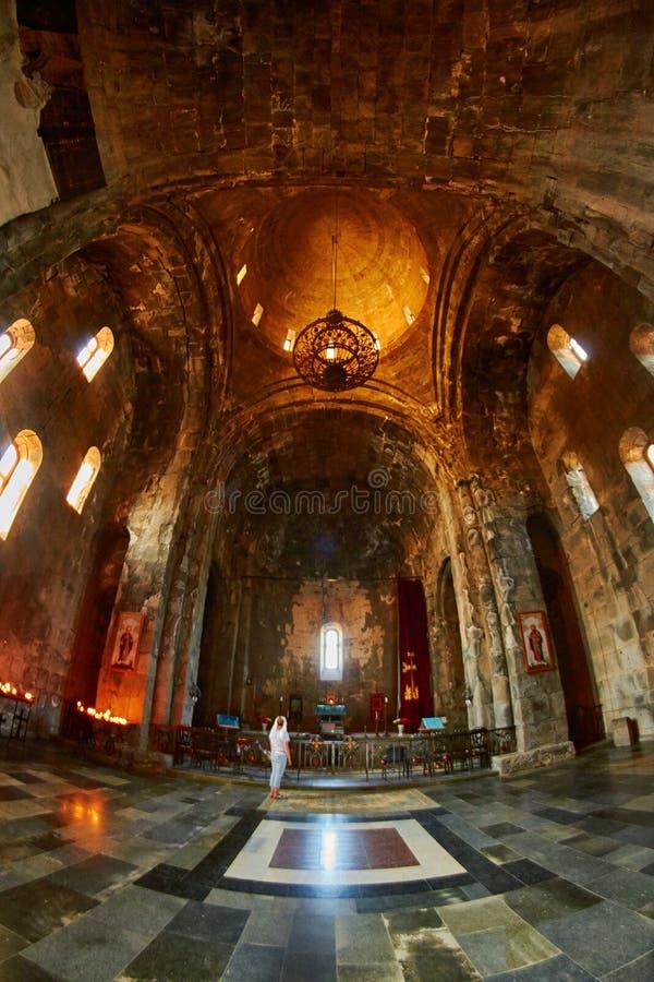 Monastero di Tatev in Armenia fotografia stock libera da diritti