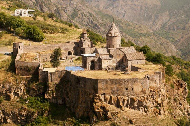 Monastero di Tatev, Armenia fotografia stock