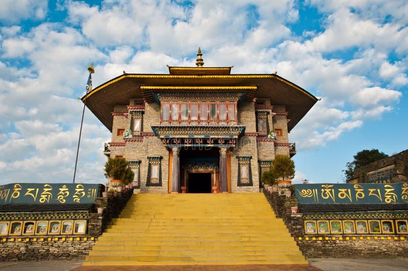 Monastero di Theckling di karmi nel Sikkim immagine stock