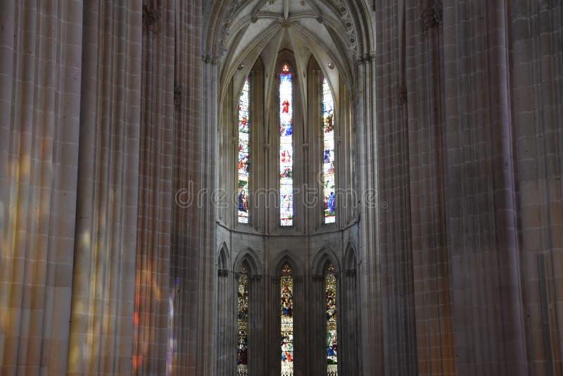 Monastero domenicano di Santa Maria da Vitoria nel Portogallo fotografia stock libera da diritti