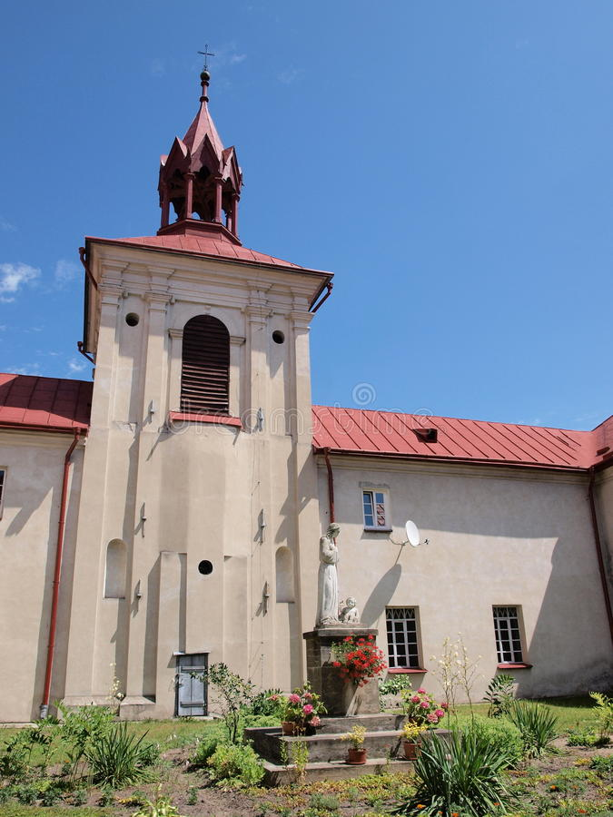 Monastero domenicano, Krasnobrod, Polonia fotografia stock