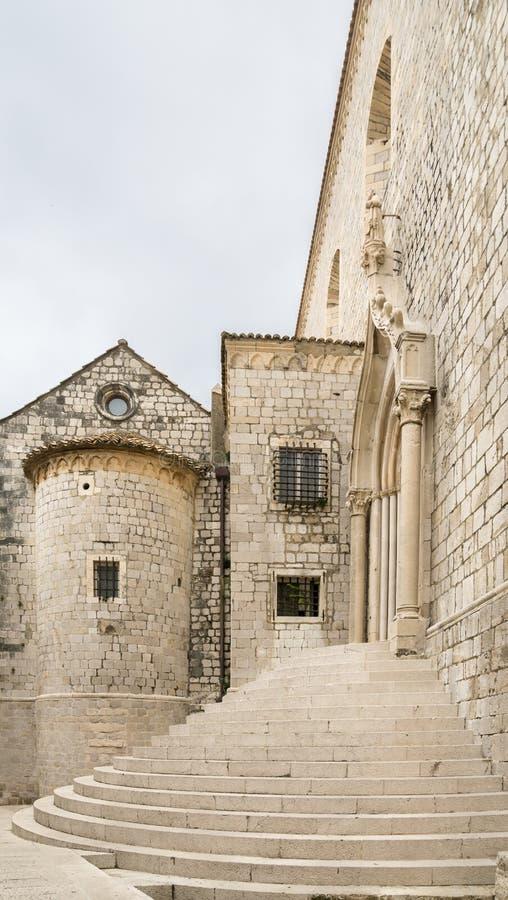 Monastero domenicano in Ragusa immagini stock