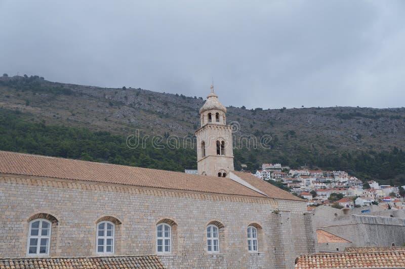Monastero domenicano in Ragusa fotografia stock