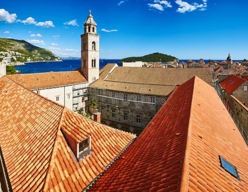 Monastero domenicano in Ragusa, Croazia fotografia stock