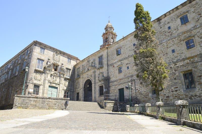 Monastero domenicano in Santiago de Compostela immagine stock libera da diritti