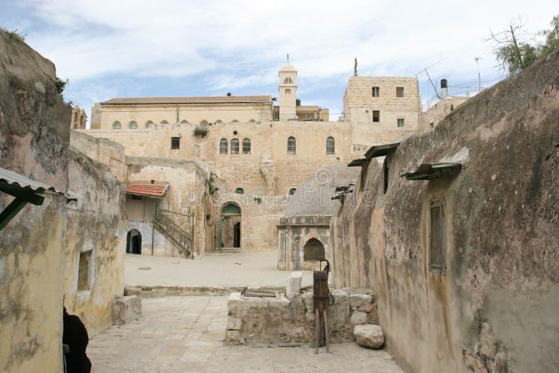 Monastero etiopico, Gerusalemme fotografia stock
