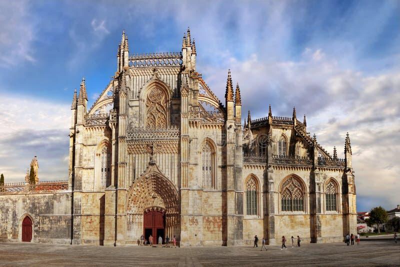 Monastero gotico medievale, capolavoro di architettura, Unesco fotografia stock