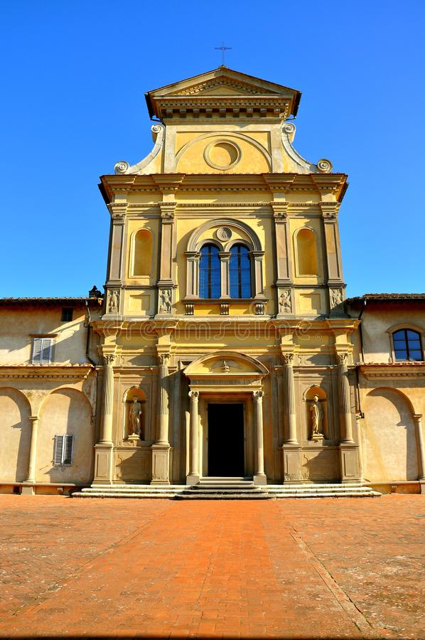 Monastero in Italia fotografia stock libera da diritti