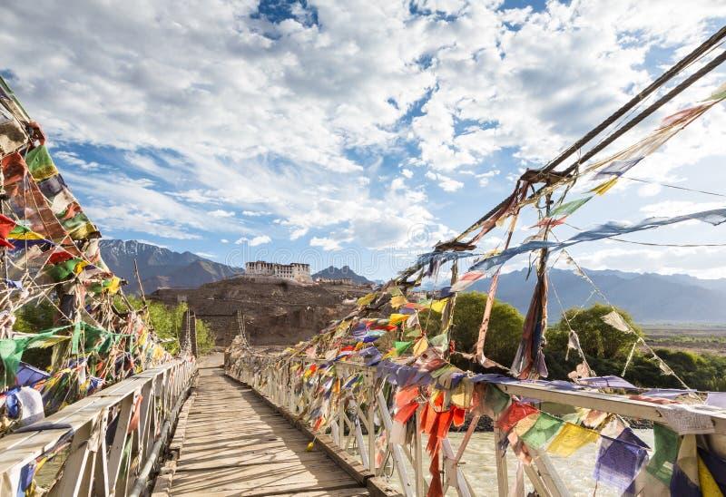 Monastero in Ladakh, India di Hemis fotografia stock libera da diritti