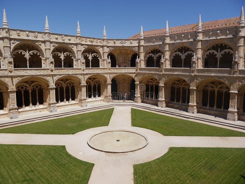 Monastero a Lisbona fotografia stock libera da diritti