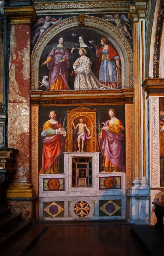 Monastero maggiore Μιλάνο Al SAN Maurizio στοκ φωτογραφίες με δικαίωμα ελεύθερης χρήσης