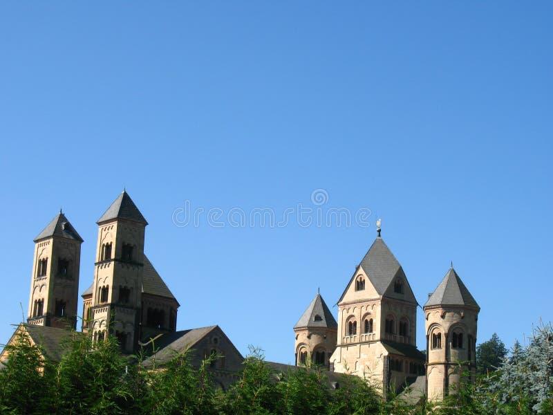 Monastero Maria Lach fotografia stock libera da diritti