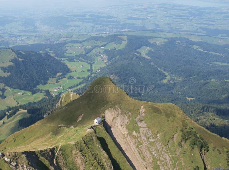 Monastero in montagne fotografie stock libere da diritti