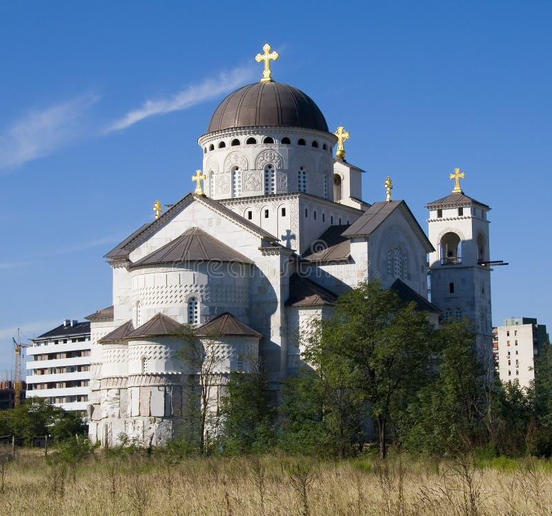 Monastero nel Montenegro immagini stock libere da diritti