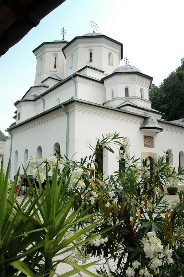 Monastero ortodosso di Tismana, Romania fotografie stock libere da diritti