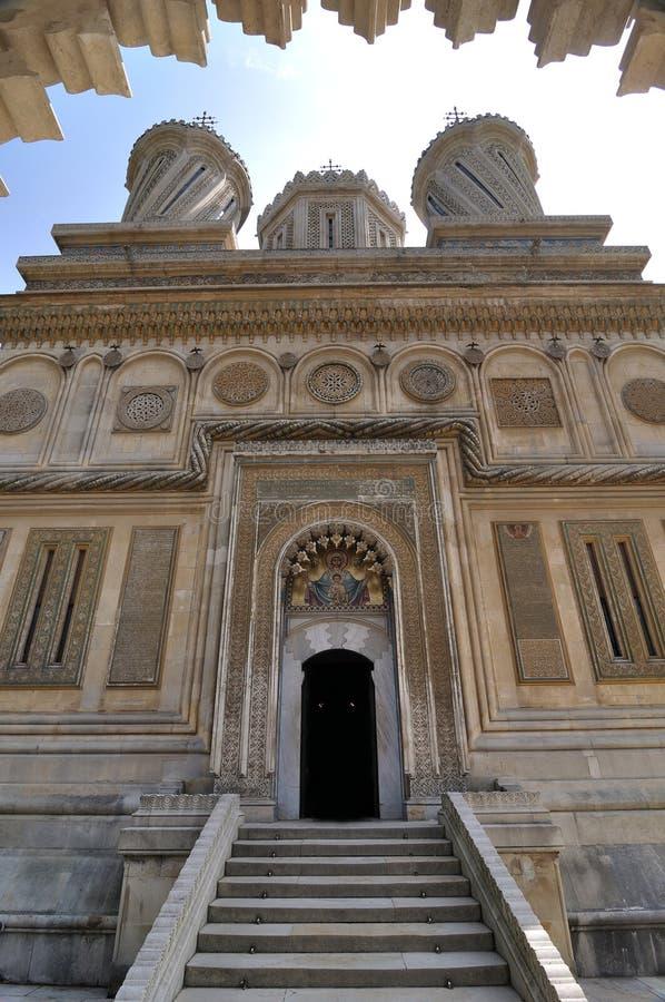 Monastero ortodosso rumeno fotografia stock