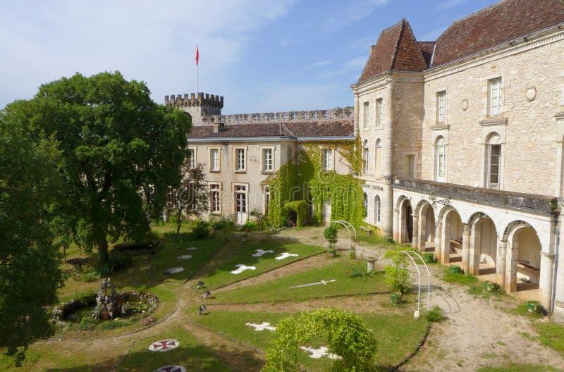 Monastero, Rocamadour, Francia fotografia stock