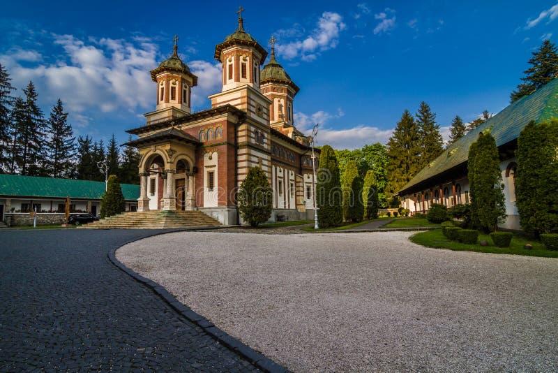 Monastero Romania di Sinaia immagine stock