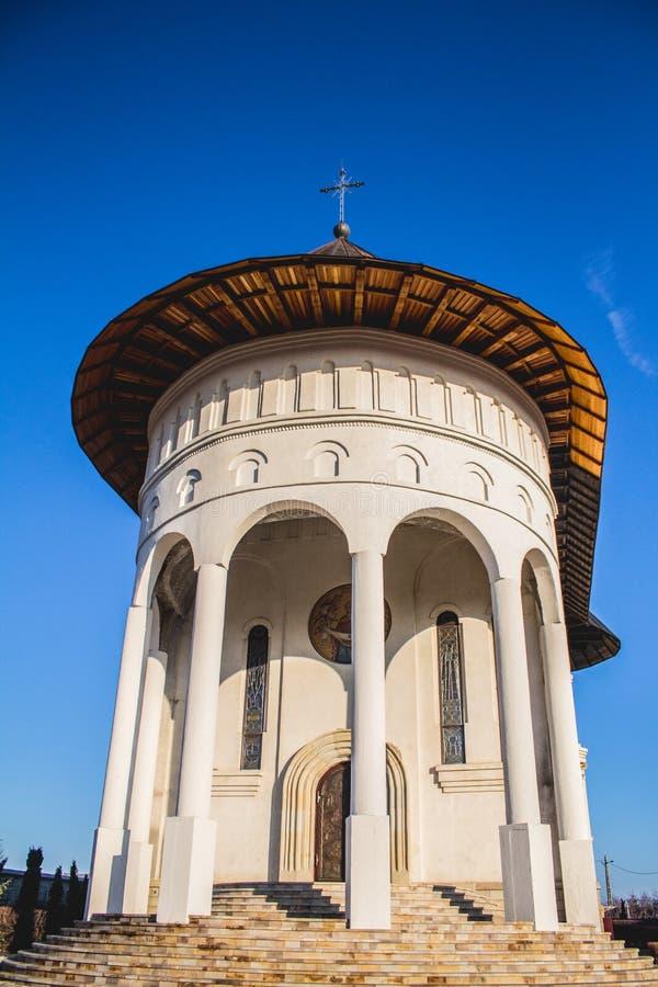 Monastero rumeno tradizionale fotografie stock libere da diritti