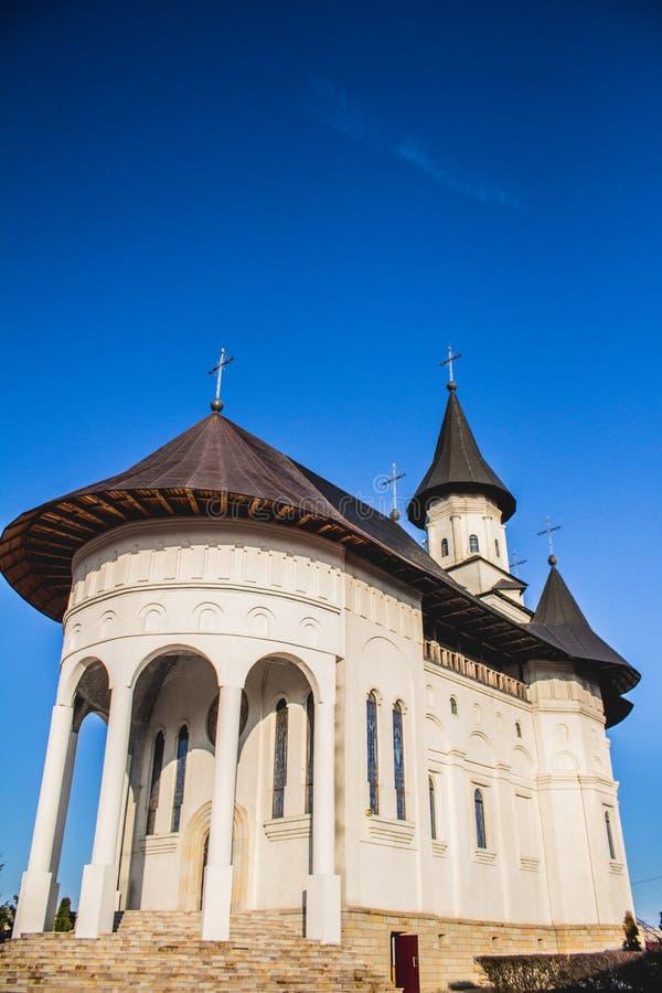 Monastero rumeno tradizionale immagini stock libere da diritti