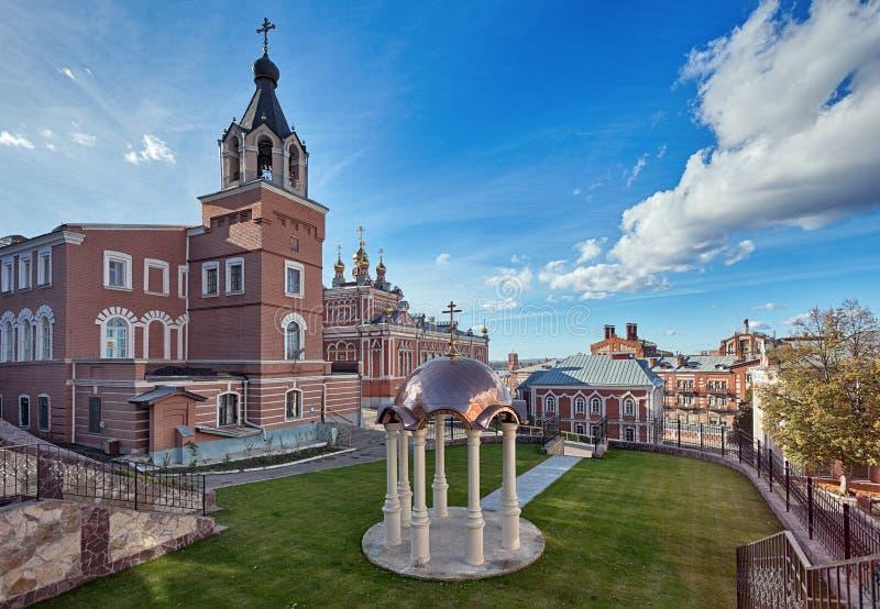 Monastero in Samara, Russia immagine stock