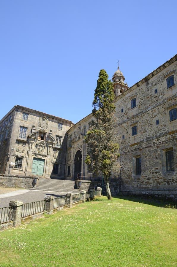 Monastero a Santiago fotografia stock libera da diritti