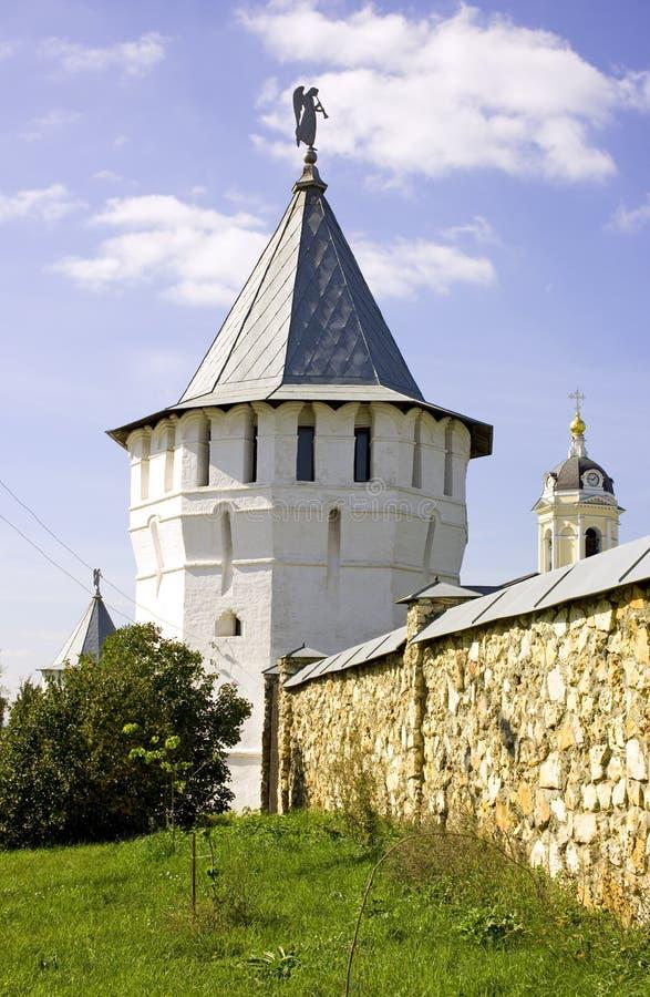Monastero Serpuchov di Vysotsky fotografia stock libera da diritti
