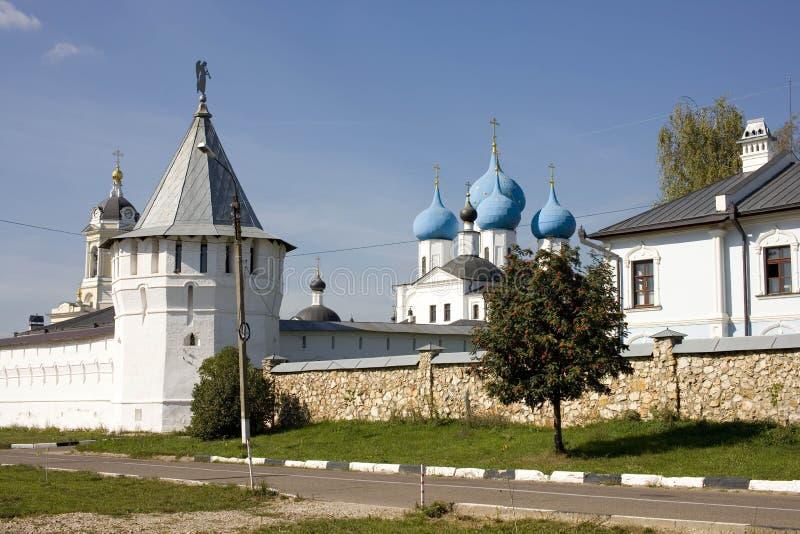 Monastero Serpuchov di Vysotsky fotografie stock libere da diritti