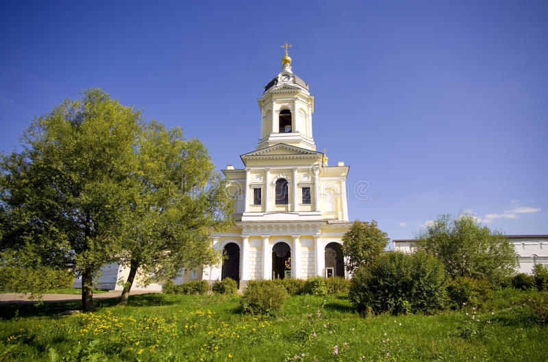 Monastero Serpuchov di Vysotsky immagine stock