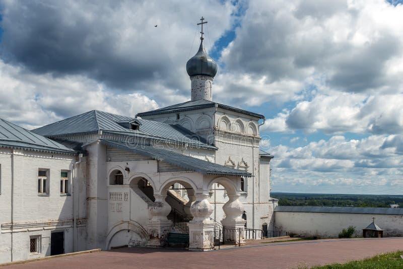 Monastero Svyato-Troitse-Nikolsky in Gorokhovets Vladimir regio fotografie stock libere da diritti