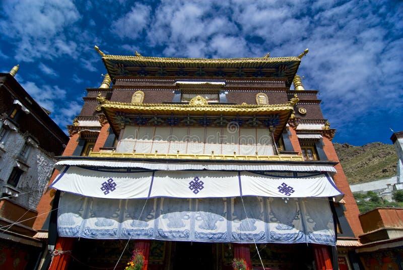 Monastero tibetano fotografia stock