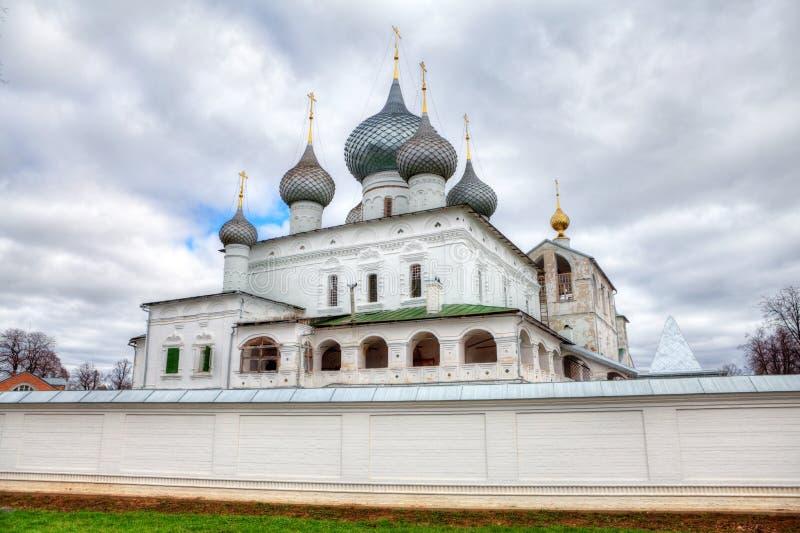 Monastero in Uglich, Russia immagine stock