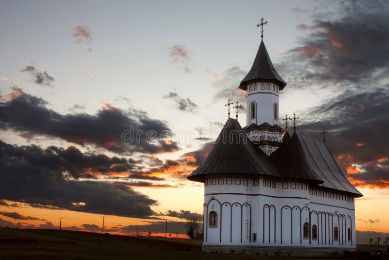 Monastero, zosin, Romania fotografia stock