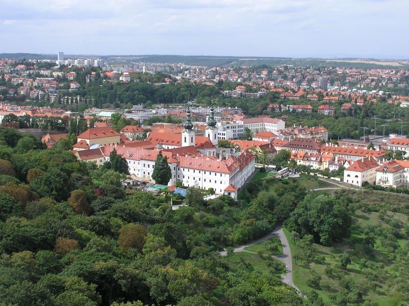 monasteru Prague stragov obraz royalty free