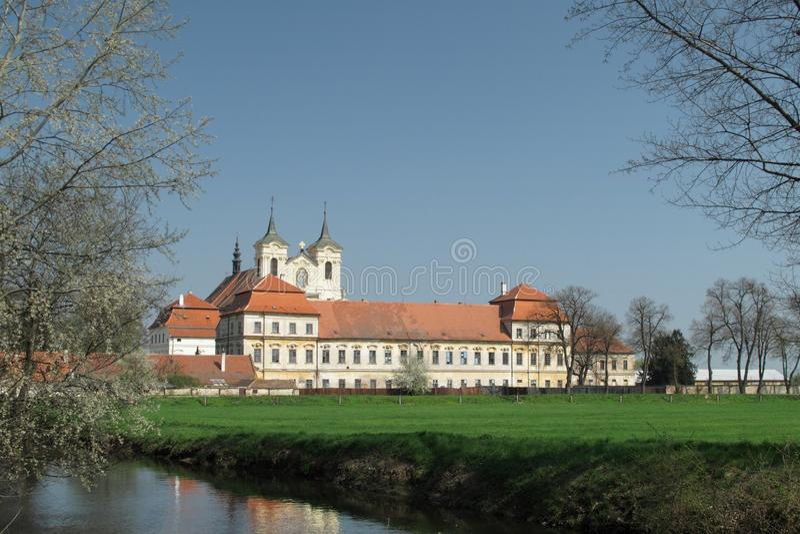 monasteru rajhrad zdjęcia royalty free