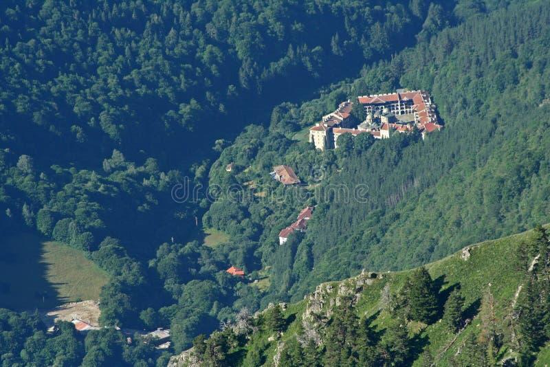 monasteru rila obraz royalty free