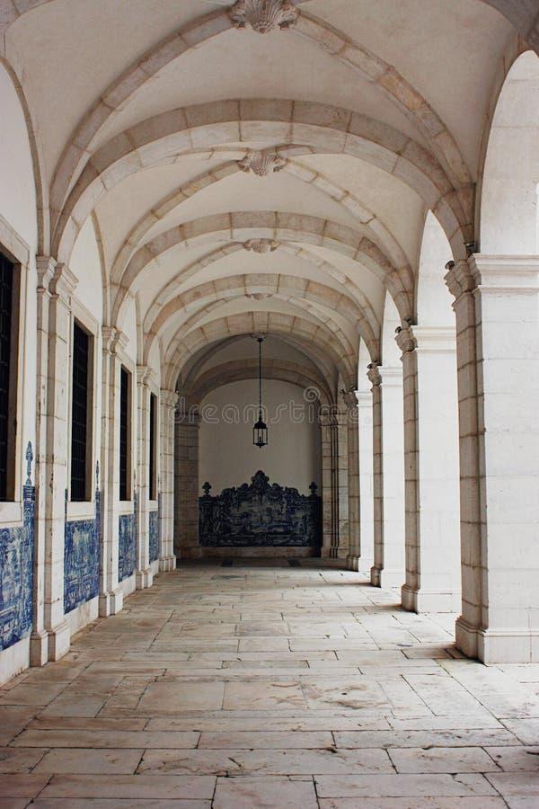Monasteru Sao Vincente de Dla A w Lisbon, Portugalia obrazy stock