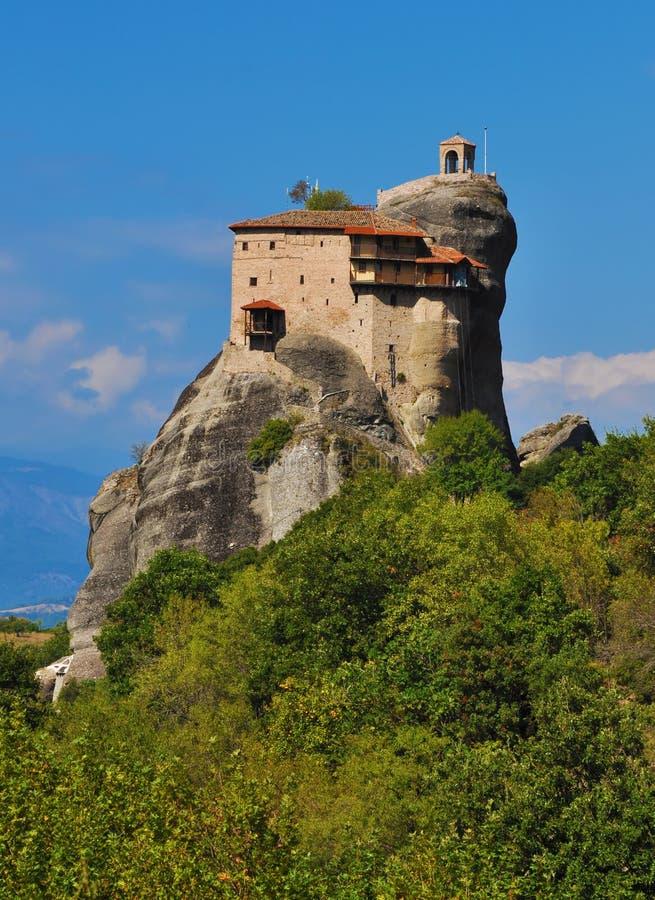 Download Monastery Agios Nikolaos At Meteora, Greece Stock Image - Image: 16767043