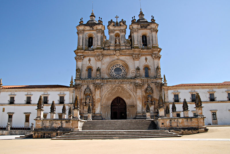 The Monastery of Alcobaca, Portugal. royalty free stock photos