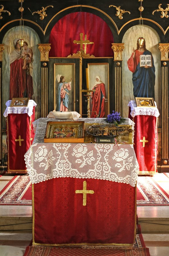 Download Monastery Alter Royalty Free Stock Photography - Image: 639207