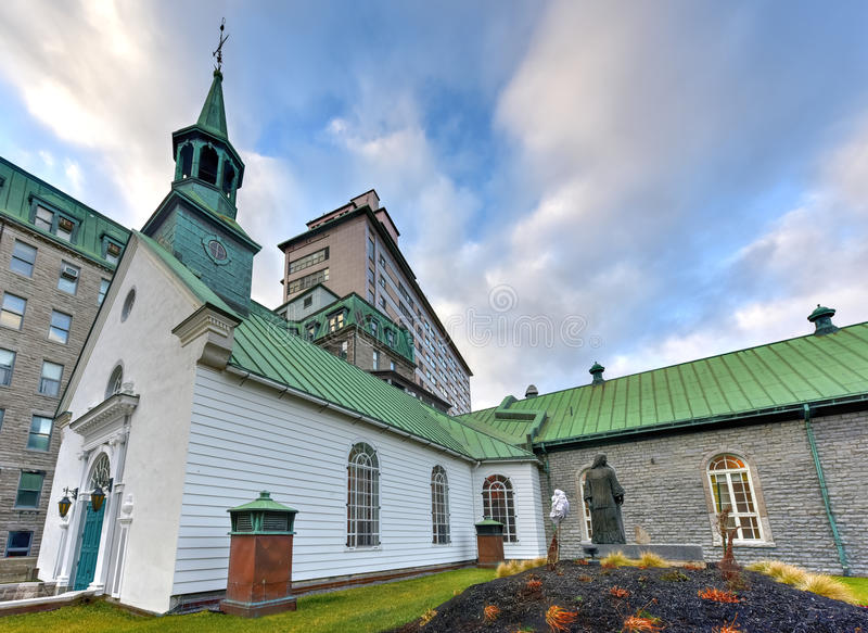 Monastery of the Augustines - Quebec, Canada. Monastery of the Augustines in Quebec, Canada stock images