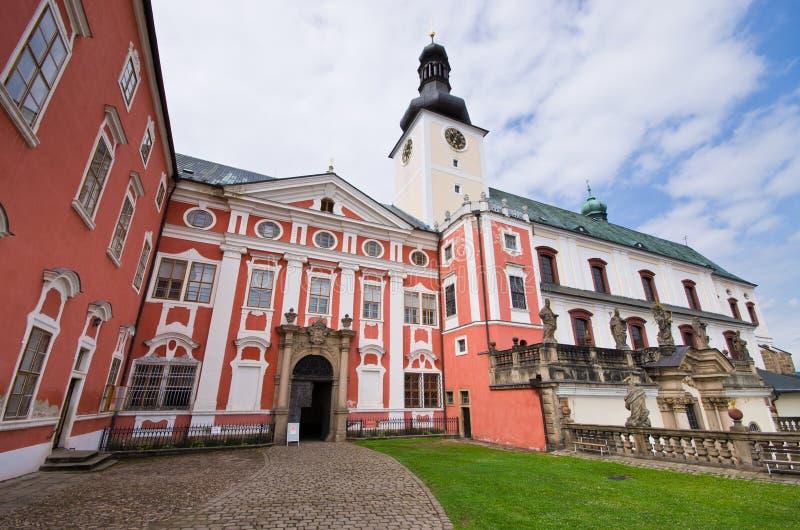Monastery In Broumov Royalty Free Stock Photos